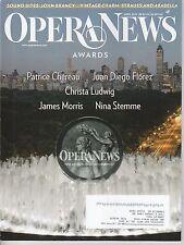 APRIL 2014 OPERA NEWS music magazine AWARDS