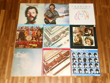 The Beatles + Solo – SAMMLUNG – 11 LPs - Let It Be – Sgt Peppers