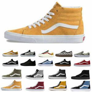 All Size VAN Old Skool Skater Shoes Hi Lo Top Trainers Canvas Sneakers UK 3-10
