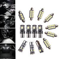 14Pcs Car Interior LED Light Bulbs Kit White For VW Passat CC (Fits 2009-2014)