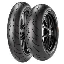 Coppia gomme pneumatici Pirelli Diablo Rosso 2 110/70 ZR 17 54W 150/60 ZR 17 66W