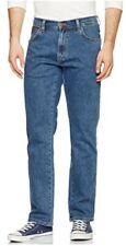 Mens Wrangler W10I Texas Durable Straight Denim Jeans *SECONDS* 100% Cotton