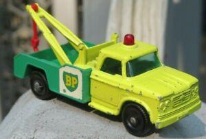 "Vintage Lesney Matchbox #13 Dodge Wreck Truck ~ Issued 1965 ~ #13D ""BP"" BP"