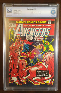 Avengers #121 - 6.5 CBCS (not CGC) - First App of Mantis - Guardians