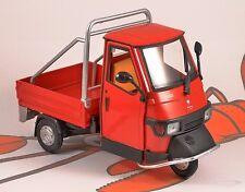 Piaggio ape cross 50 rouge échelle 1/18 modèle par newray