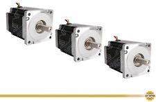 DE Free 3PCS Nema34 Schrittmotor 34HS1456 5.6A 116mm 1232oz-in Bipolar Φ14mm CNC