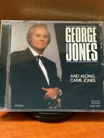 And Along Came Jones by George Jones (CD) Brand New