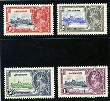 Ascension 1935 KGV Silver Jubilee set complete superb MNH. SG 31-34. Sc 33-36.