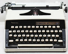 Remington Monarch 1 Manual Portable Typewriter + Case & New Ribbon 1970s
