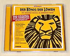 CD DER KÖNIG DER LÖWEN BROADWAY MUSICAL HAMBURGER HAFEN - DEUTSCH ELTON JOHN