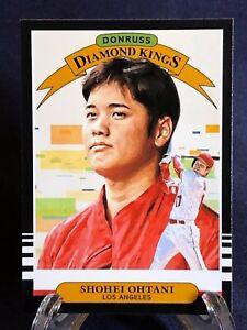 Shohei Ohtani 2019 Panini Donruss Diamond Kings Baseball Card Los Angeles Angels