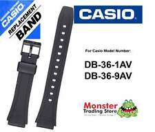 REPLACEMENT CASIO WATCH BAND ORIGINAL ONLY FITS: DB-36,DB36,DB-36-1,DB-36-9