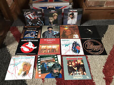"Job Lot Classic Movie Soundtracks 7"" Singles Record Vinyl 45rpm Top Gun Rocky VG"