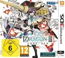 NINTENDO 3DS 7th DRAGON III 3 Code Ufo NEU