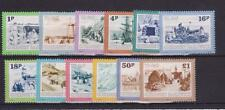 GUERNSEY 1982 POSTAGE DUE TO PAY STAMP SET MNH SG D30-D41