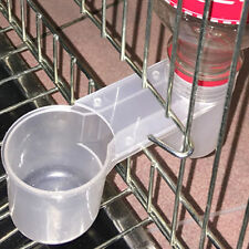 Bird Food Water Feeder Dispenser Drinking Double Bottle Poultry Pigeon Supplies