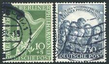 GERMANY BERLIN-1950 Berlin Philharmonic Orchestra Sg B72-73 FINE USED  V20012