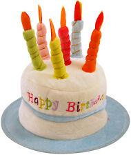 Birthday Cake Hat Blue