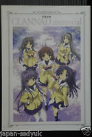 """JAPAN Kyoto Animation,Key Official Art Guide Book """"Clannad memorial"""""""