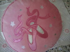 Pretty Pink Velvet Applique Embroidery Filled Cushion 40cm