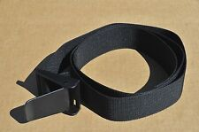 "SCUBA DIVING 60"" WEBBING WEIGHT BELT WITH FOUR SLOT DELRIN CAM BUCKLE"
