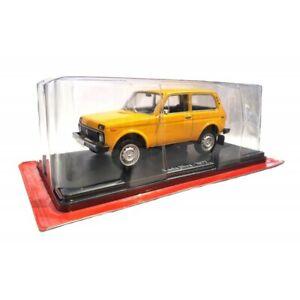 Communist Car Collection- 1977 LADA NIVA, 1/24, Hachette Diecast, New
