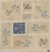 Simple Blue Flowers Quilt Fabric - Free Shipping - 1 Yard
