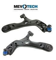Pair Set 2 Front Lower Control Arm Ball Joints Mevotech For Toyota Prius Plug In