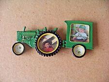 John Deere metal tractor 4 - picture holder frame