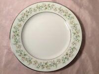 "NORITAKE china SAVANNAH pattern 2031 Salad or Luncheon Plate  - 8-3/8"" Set of 4"