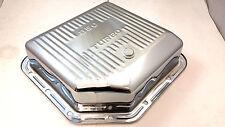 "GM Chevy Chrome Steel  TH-350 TH350 Turbo 350 3"" Deep Transmission Trans Pan"