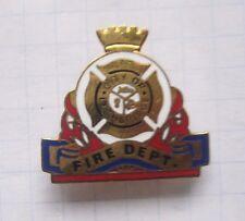 City of Lethbridge/Canada/Fire Dept.... vigili del fuoco Pin (114e)