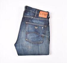 28928 ARMANI JEANS STRAIGHT FIT Blue men Jeans Size 33