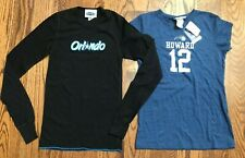 Orlando Magic Basketball Dwight Howard Vintage Shirts NWT EUC Women's Small Lot