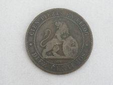 """Spain 10 Cents (10C) 1870 """"Diez Centimos"""" KM#663 (Y54)"""