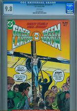 GREEN LANTERN / ARRROW #7 CGC 9.8 new Neal Adams cover - reprints classic series