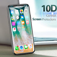 3Pcs For iPhone 11 Pro Max 10D Full Cover Tempered Glass Screen Protector lot AW