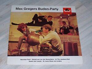 Max GREGERS Buden - Party / Sehr rare 1964er POLYDOR - LP !  No.: HI-FI 46619  !
