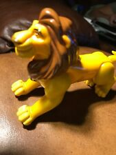 DISNEY BURGER KING LION KING MUFASA TOY FIGURE