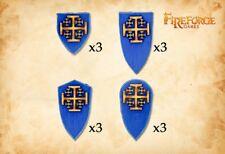 FIREFORGE GAMES DV059 THE ORDER OF JERUSALEM SHIELDS