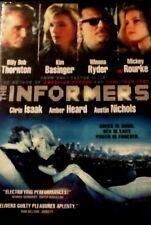The INFORMERS (2008) Billy Bob Thornton Kim Basinger Mickey Rourke Winona Ryder