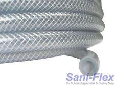 PVC Gewebeschlauch 12x3,5 auf 50m-Rolle Kreuzgewebe transparent für Lebensmittel