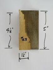 Shaper Molder Custom Corrugated Back Cb Knives For 4 12 Casing