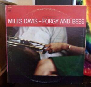 Miles Davis Porgy And Bess LP 1970s pressing