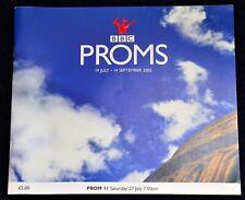 More details for 2002 bbc proms programme london william walton   antonín dvořák  freepost to uk