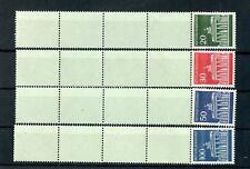 BUND Nr.507v-510v ** ROLLENMARKE mit 4 LEERFELDERN - siehe Foto ! (136021)