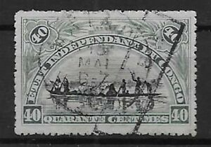 """Congo - Postage Due - 1908 - COB TX5 - Handstamped """"TAXES"""" - Used -"""