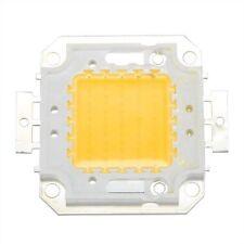 2x(50W Chip LED per Lampada Faretto Bianco Caldo 3800LM Alta Potenza HK