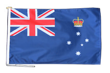 More details for victoria australia flag with rope and toggle - various sizes