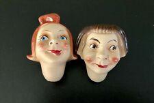 RARE POUPEE  ANCIENNE TETES CARACTERES celluloid COMIC Max & Moritz Dolls German